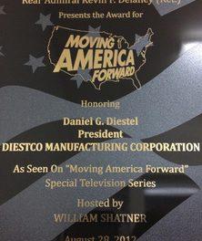 """DIESTCO's Dan Diestel Appears on TV's """"Moving Forward"""""""