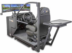 Driving Simulator Assists Ambulatory Patients and Wheelchair Users