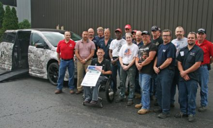 BraunAbility Presents Accessible Vehicle to Iraq Veteran