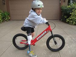 Online Resource Endorses Balance Bike for Pediatric Users