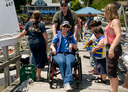 Helen Hayes and Nyack Boat Club Host Annual Adapted Sailing Program