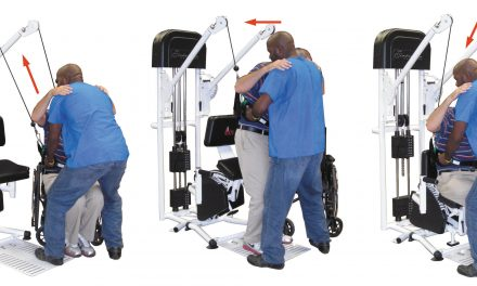 Multi-Station Exercise Machine Targets Streamlined Transfers