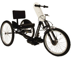 Handcycle Design Accommodates Both Enthusiasts and Beginners