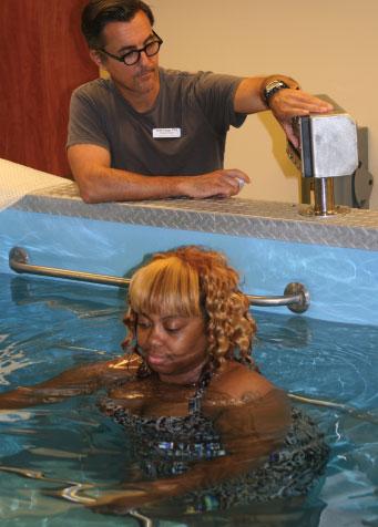 Healing Through Aquatic Therapy