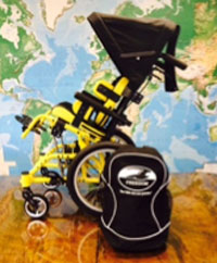 Free Canopy and Backpack Promotion for Each Freedom Designs Wheelchair Ordered, Limited Time