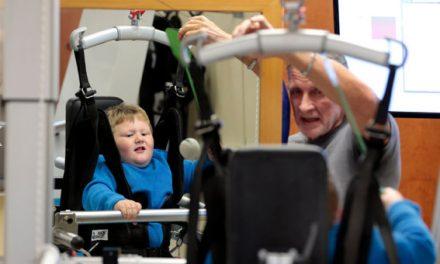 G-EO robotic walker makes headlines for Kentucky rehab facility