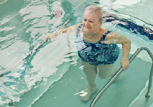 Make the Pool a Therapy Tool