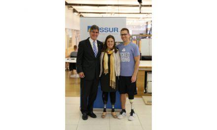 Boston Marathon Bombing Victims, US Ambassador, Visit Össur Headquarters