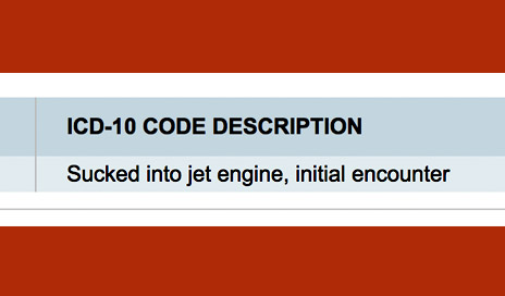 ICD-10's Most Laughable Codes – No Kidding