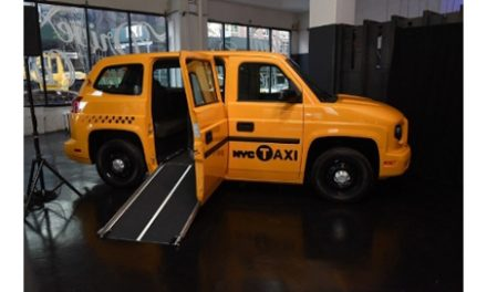 Mobility Ventures Unveils Specially Designed MV-1 Taxi