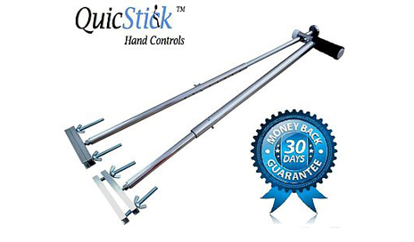 QuicStick Launches QuicStick Portable Hand Controls