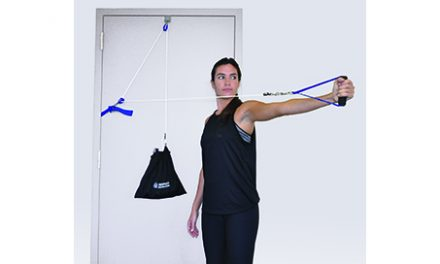 Control the Workout Via the Portable TheraPulley Resistance System from OPTP