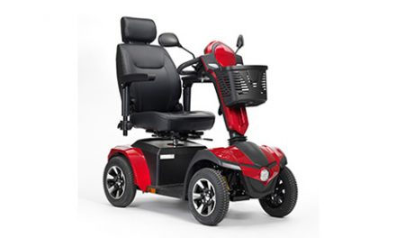 Drive DeVilbiss Adds 4-Wheel Scooter to Power Mobility Line