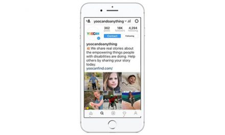 yoocan Launches on Instagram, to Unite and Encourage People with Disabilities