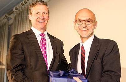 Spaulding Rehab's David Storto Receives William L. Lane Hospital Advocacy Award