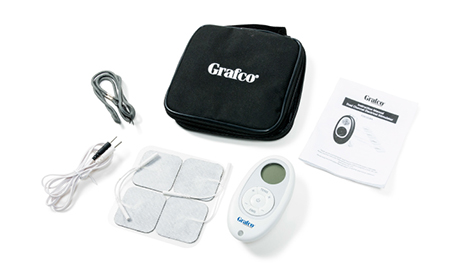 Grafco GF-DF5 Stimulator Provides Dual TENS and EMS Functionality