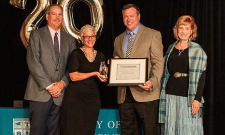 USAHS Recognizes Jon Edenfield for His Contributions to the Occupational Therapy Profession