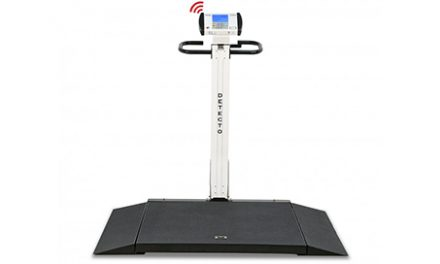 Model 6550 Wheelchair Scale Platform from DETECTO Receives Upgrade