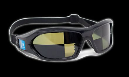 Quad Strobe Eyewear Features Customizable Segments for Independent Control