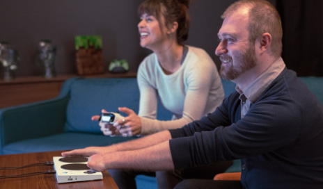Who Needs Fingers? Disabled Gamers Finally Get an Adaptive Controller