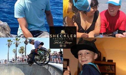 "Wheelchair Athletes Among Sheckler Foundation ""Be the Change"" Finalists"
