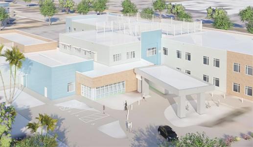 UC Davis' New Aggie Square Starts with Rehab Hospital