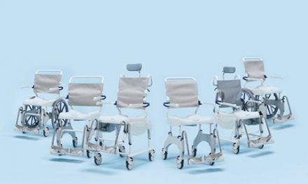 New From Clarke Health Care Products: Aquatec Ergo Shower and Commode Chairs