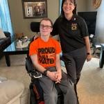 Quantum Rehab Donates iLevel Power Chair to Walmart Employee
