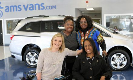 Wheelchair-Accessible Minivan Awarded to Essay Contest Winner