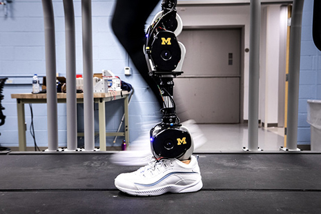 Open-Source AI Prosthetic Leg Developed by UMich and Shirley Ryan is Now Available