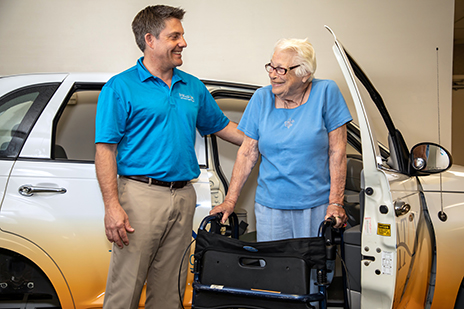 Eskaton Care Center Adds New Wheels to Its OT Room