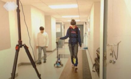 CANINE Cane Provides Light Touch to Aid Mobility