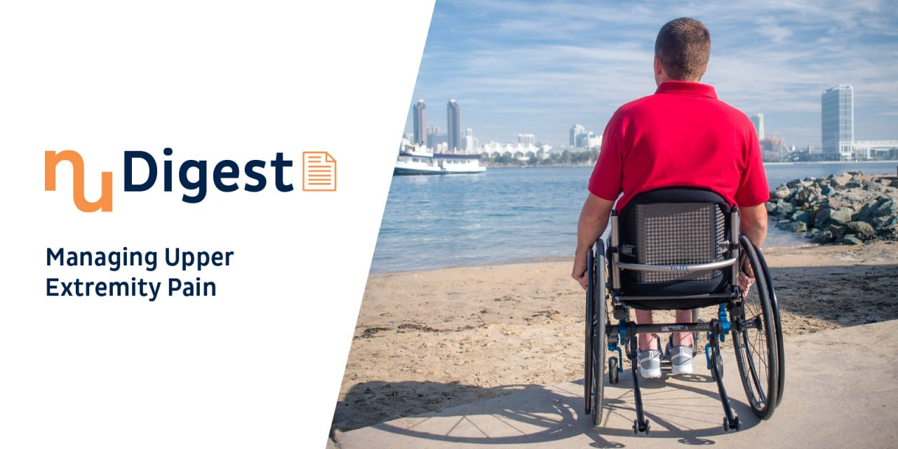 NuDigest: Managing Upper Extremity Pain with the Right Wheelchair Configuration