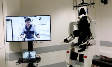 Paralyzed Man Hails 'Feat' of Walking Again with Robot Exoskeleton