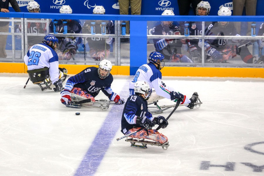 Play Sled Hockey with the New York Rangers on Feb 13
