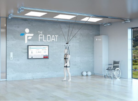 The FLOAT Offers 3-Dimensional Body Weight Support