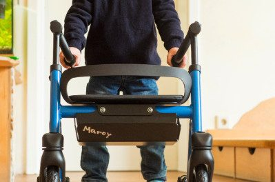 Meet Marcy, a Rollator/Gait Trainer Sized for Kids
