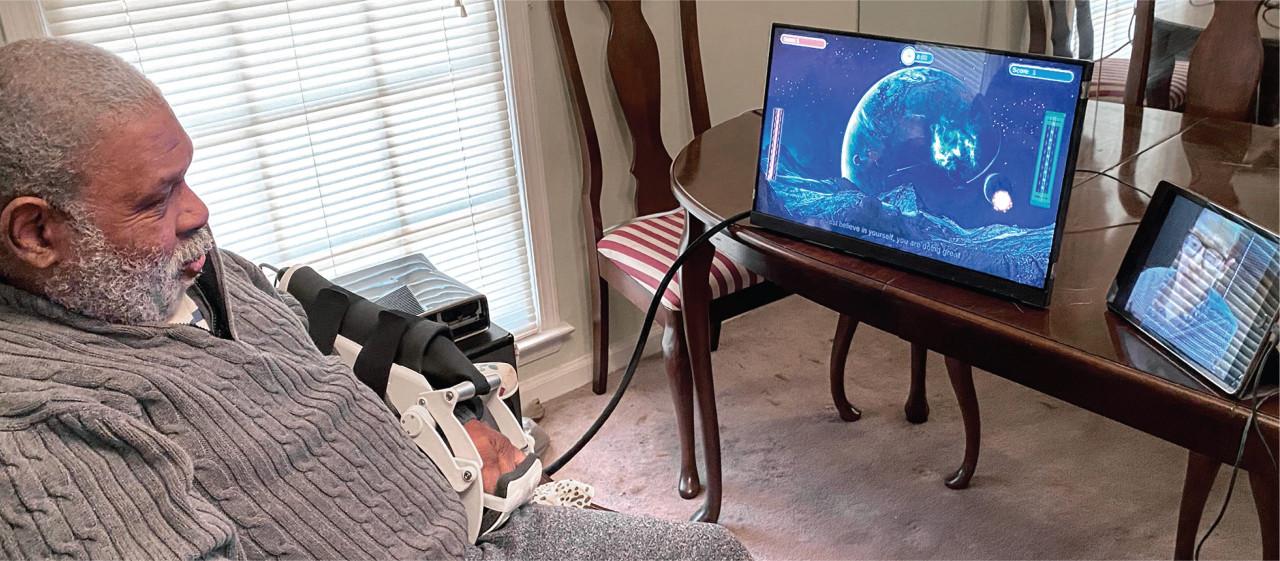 PTs/OTs Provide COVID-19 Telehealth Care Via Motus Home Robots