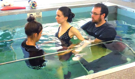 aquatic therapy in spinal cord injury